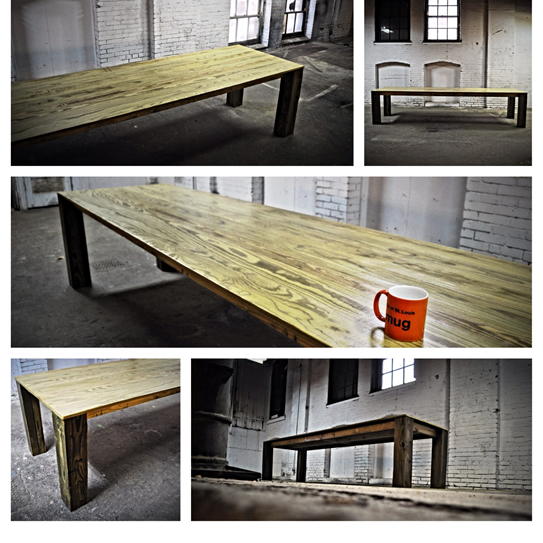 Space It Will Sit Up To 30 People Completed February 2014 For More Photos Of This Table Click Here Visit Our Project Gallery Page On Facebook